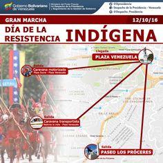 Esta es la ruta de marcha oficialista en el Día de la Raza - http://www.notiexpresscolor.com/2016/10/12/esta-es-la-ruta-de-marcha-oficialista-en-el-dia-de-la-raza/