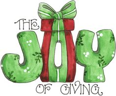 Giving is what it is all about. <3                                                                                                                                                                                 More