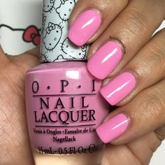Look at My Bow! from the Hello Kitty by OPI 2016 Collection | Nailpolishpursuit.com