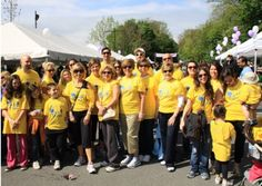 A handful of Neave Group employees and friends participate in the March of Dimes annual March for Babies each year.