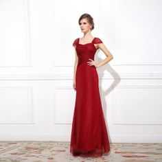 wine red fish bride toast clothing wedding dress fashion summer evening dress in http://www.allymey.com online shopping sites