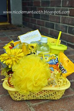 Love this idea of basket of sunshine!!  RANDOM RAMBLINGS: SENDING SUNSHINE : a card #silhouettedesignteam