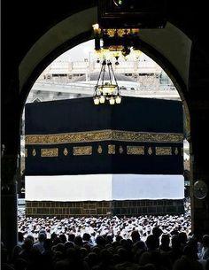 Ka'bah,Al Haram Mekkah Abu Dhabi, Masjid Haram, Mecca Kaaba, Mecca Mosque, Quran Wallpaper, Mekkah, Dubai, Les Religions, Beautiful Mosques