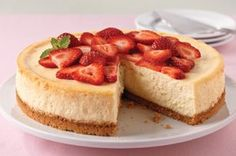 PHILADELPHIA Classic Cheesecake Recipe - Kraft Recipes - will sub pecans for graham crackers and xylitol for sugar.