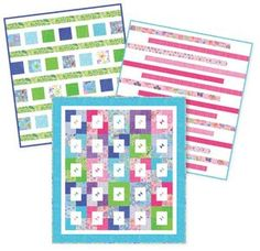 Easy As 10, 11, 12 - jelly roll, layer cake patterns