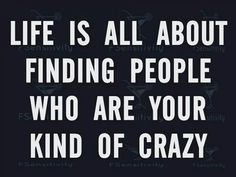 My kind of #crazy