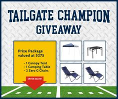 Tailgate Champion Giveaway
