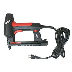 by Air Locker is an electric upholstery stapler and nailer in one sturdy tool. We also have staples available for the stapler. C Type Crown staples, 22 Gauge.