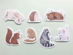 Nina Stajner Illustrated Stickers