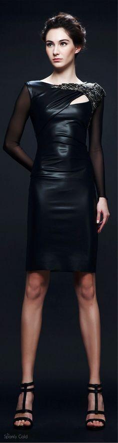 Veloudakis Fall 2015 women fashion outfit clothing style apparel @roressclothes closet ideas