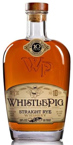 WhistlePig Straight Rye Whiskey 100 Proof 750ml