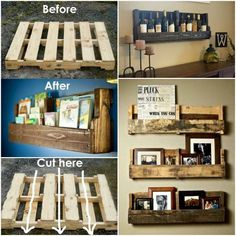 Wooden crates project