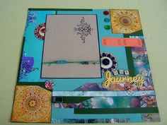 Our Journey GORGEOUS Double Premade Scrapbook by BennBooCreations
