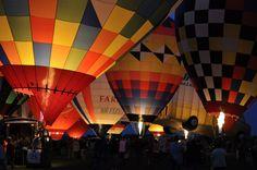 Balloon ride.