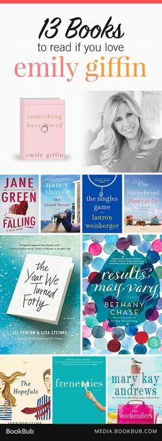 If you love Emily Giffin, check out these 13 great books.