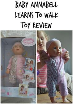 Baby Annabell Learns To Walk Toy Review