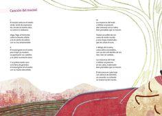 De Gabriela Mistral - Selección de Cristóbal Joannon - Ilustraciones de Bernardita Ojeda. Amanuta Editorial, Chile, 2011