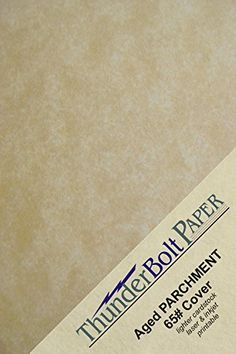 """500 Old Age Parchment 65lb Cover Paper Sheets 3.5"""" X 5.5"""" (3.5X5.5 Inches) USPS Standard Postcard Card Size - Printable Parchment Semblance by the Pulp Process ** Learn more by visiting the image link."""