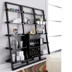 9 Best Leaning Shelf Wine Rack Project Images Wine Cabinets Wine