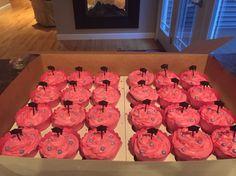 Cupcakes for graduation