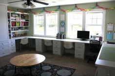 homeschool room! KarinaMcCann