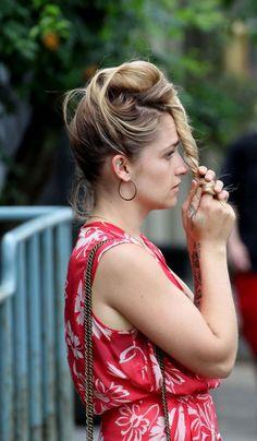 Cheveux: les stars craquent pour les tresses - Jemima Kirke a l'art d'arborer des tresses toutes plus belles les unes que les autres dans la série «Girls». © Getty