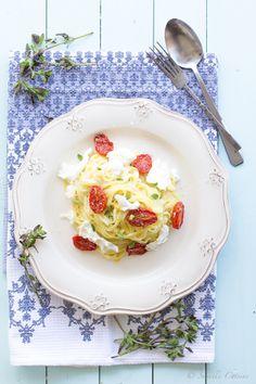 Fettucine com molho de Mascarpone e Tomatinhos assados... e a minha vida perfeitaby Suvelle Cuisine