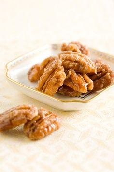 Pecan Praline Morsels...these are THE BEST!! I had these in my favor boxes at my wedding and give them as gifts at Christmas time. Warning..they are addicting!!