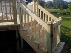 Deck Gate, But I Would Put It At The Top Of The Stairs: For