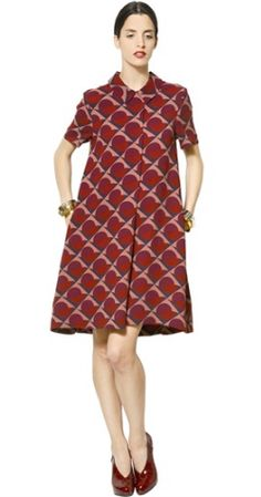 Etta Print Sleeved Dress by MARC BY MARC JACOBS @Girl Meets Dress