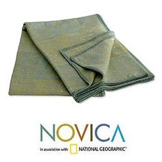 @Overstock - Super-soft wool blanket is handmade in Peru by Isidoro C'cahuantico  Blanket honors Peru's past   Bedding is made of alpaca wool and replicates the glyphs of Paracas culturehttp://www.overstock.com/Worldstock-Fair-Trade/Paracas-Fantasy-Alpaca-Wool-Blanket-Peru/4068273/product.html?CID=214117 $91.99