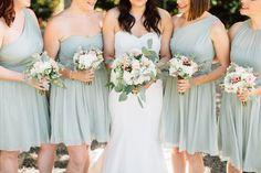 Sage J.Crew Bridesmaid Dresses