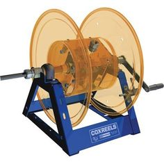 Coxreels Professional-Grade Cord Reel - 45 Amp, Electric Rewind, Model# 1125PCL-8M-E by Coxreels. $999.99. The Coxreels 1125 PLC series cord reel boasts an industry-preferred design featuring a sturdy one-piece all welded steel A-frame base. Permanently sealed pillow block bearings for smooth rotation. Integrated cable keeper prevents pigtail from whipping or twisting. 600V internal slip ring assembly with easy access panel. Drum lock pin prevents freewheeling and c...