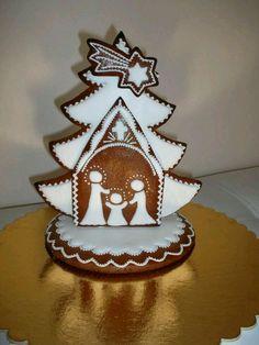 Fancy Cookies, Vintage Cookies, Cute Cookies, Christmas Sugar Cookies, Christmas Desserts, Christmas Baking, Gingerbread Decorations, Gingerbread Cookies, Christmas Decorations