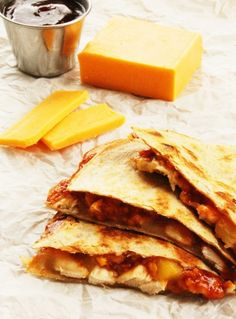 Pineapple Chicken Quesadilla. My favorite dish to make on #firetainment grill