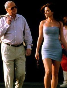 Sandra Bullock in, 'Miss Congeniality'.  Fabulous 'make over' fashion.