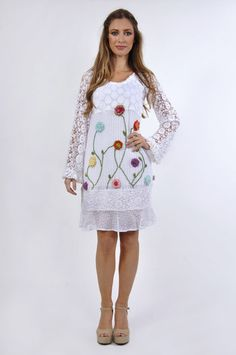 Savage Culture: Crocheted Garden Malena Sundress, only on wildcurves.com!