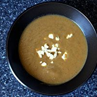 Roasted Eggplant Soup by Smitten Kitchen