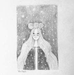 SKETCHBOOK:   The Snow Maiden