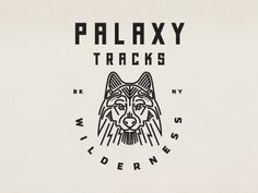 Palaxy Tracks wolf by Keith Davis Young