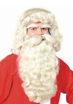 Joulupukin parta deluxe.