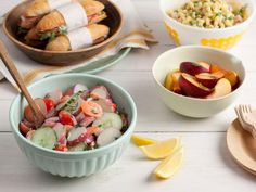 Host a cookout with fresh, lower-calorie versions of cookout favorites.