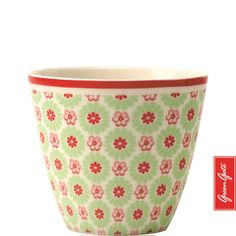 Greengate latte cup Denise green