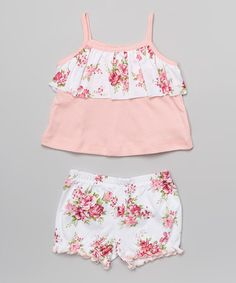 Look what I found on #zulily! Spring Bouquet Tank & Bloomers - Infant by Everyday Nay #zulilyfinds
