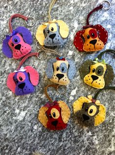 portachiavi cagnolino in feltro, by FANTASY WORK, 11,00 € su misshobby.com