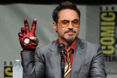 Robert Downey Jr Makes a Surprise appearance at SDCC