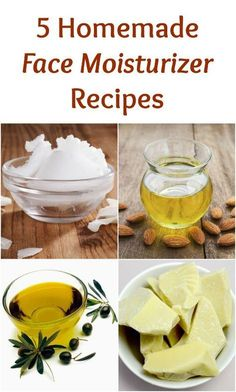 The safest way to moisturize your skin is to make your own moisturizers. Here are 5 homemade face moisturizer recipes with natural ingredients.