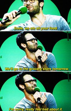Teen Wolf - Tyler Hoechlin on living with O'brien and Posey - Emerald City ComicCon, March 27