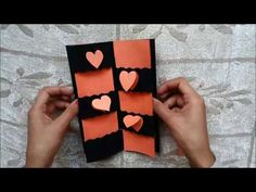 Secret Message Card Tutorial, Valentines Day Cards, Valentine cards, Valentines day card ideas, My