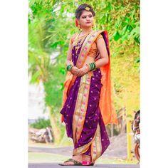 Nauvari Saree, Beauty Girls, Sari, Women, Fashion, Saree, Moda, Fashion Styles, Fashion Illustrations